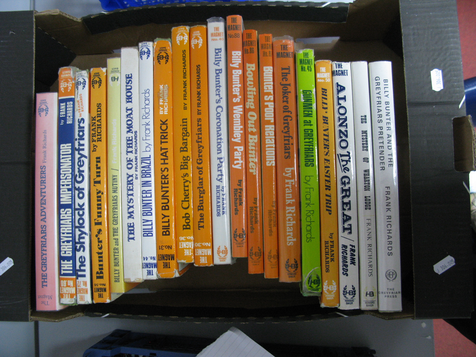 Lot 6 - Twenty Facsimile Hardback Copies of The Magnet, by Howard Baker Press 1970's. Frank Richards