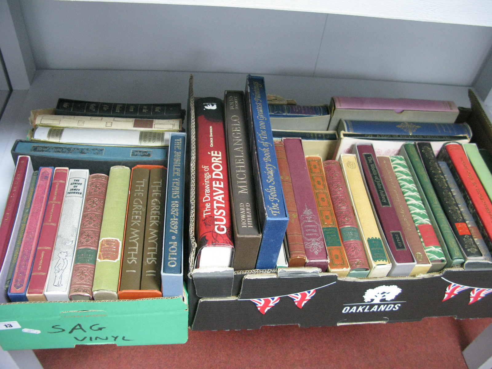 Lot 13 - Howard Hubbard - Michaelangelo, The Folio Society; plus other historical reference and general