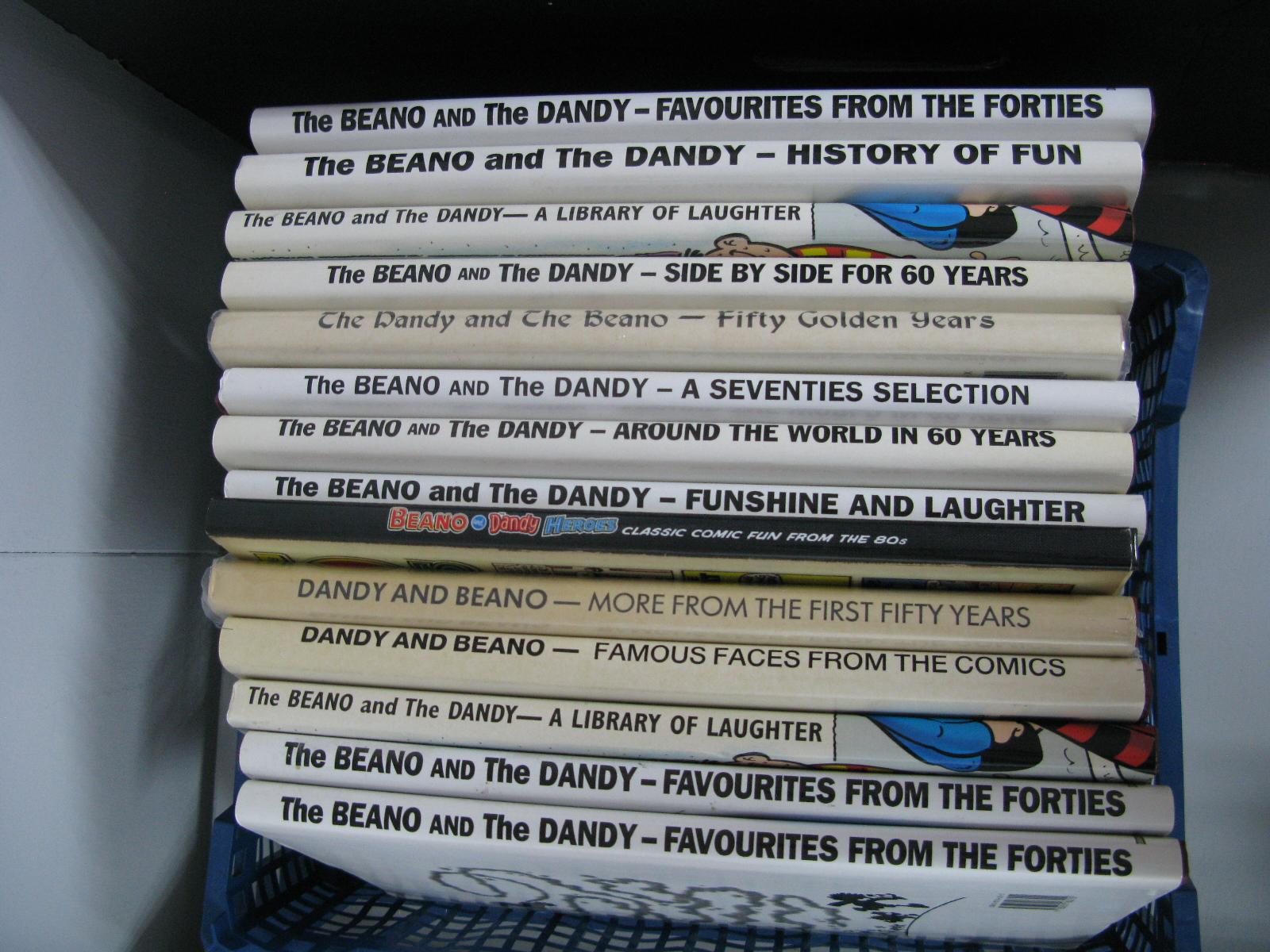 A Collection of Dandy, Beano Compilation Hardbacks. (14)