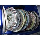 Mason's, Ashworth, Wedgwood and Other Table Plates:- One Box