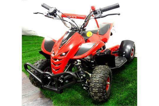 Brand New Red Mini Moto 50cc Petrol Pull Start Quad Bike Street