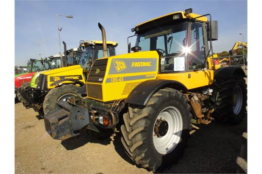 JCB Fastrac 185 65 Tractor With Air Con Front Weights 6880 Hrs V5 Will Be Supplied Reg No M8