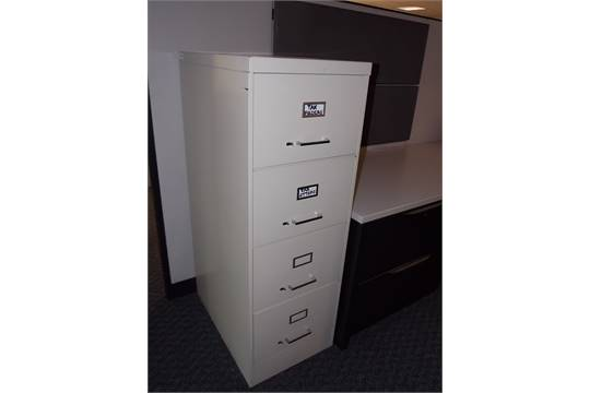 ASE (ALL STEEL) 4 DRAWER LEGAL SIZE VERTICAL FILE CABINET