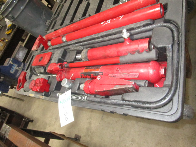 Lot 50 - Porta Power 10 Ton Body Repair Kit