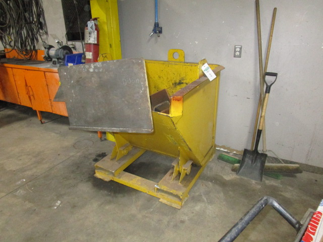 """Lot 44 - Tilting Dumpster 42"""" X 46"""" and 2 Stands"""