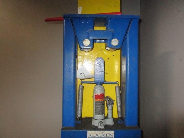 Nochen Hydraulic Press 2 Ton for Bending Pipe