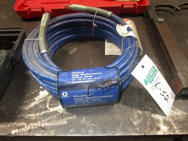 "Lot 52 - 1/4"" X 50' New Air Hose"