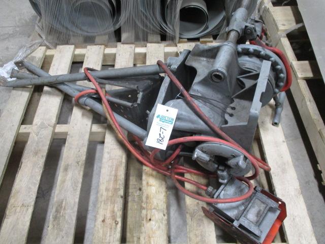 Lot 281 - Ridgid Pipe Threader with Foot Control 120volt M#1452