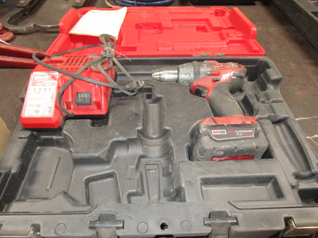 Milwaukee Drill and Charger Kit