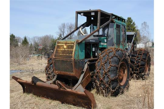 TIMBERJACK 260 GRAPPLE SKIDDER WITH 110