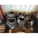 LOT OF AIR HOSE (on one skid)