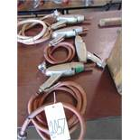 LOT OF PNEUMATIC NEEDLE SCALERS (4)