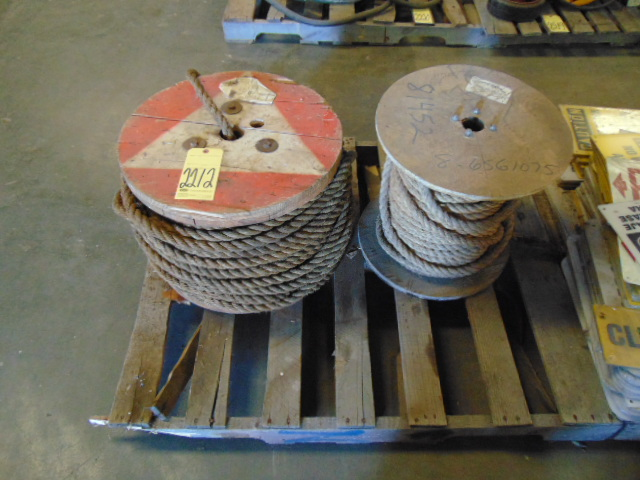 Lot 2212 - LOT OF ROPE (on one skid)