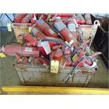 LOT OF FIRE EXTINGUISHERS, assorted (in one box)