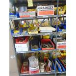 LOT OF PLASMA REPLACEMENT PARTS, assorted (in one section of shelving)