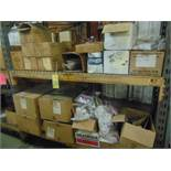 LOT OF SAFETY EQUIPMENT, assorted (in one section pallet rack)