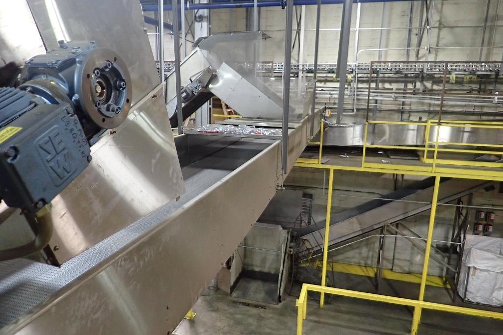 Lot 105 - SS conveyor - (Located in Newport, TN)