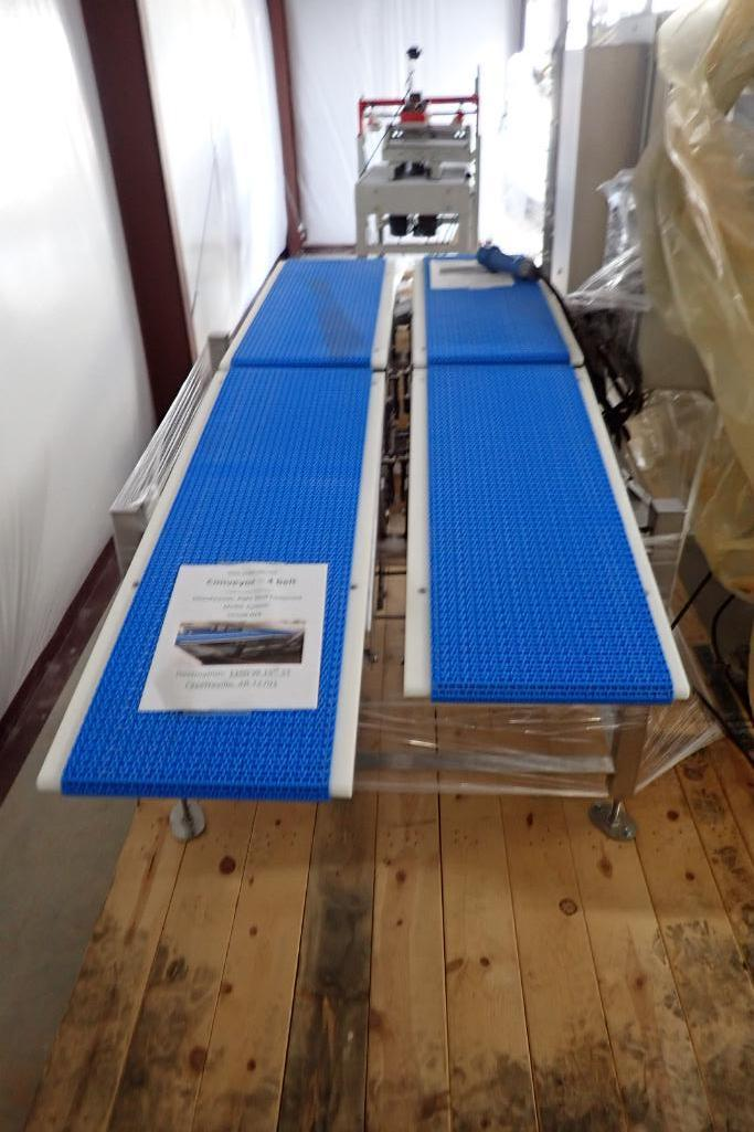 Lot 45 - SS 4 conveyor transfer system - (Located in Fayetteville, AR)
