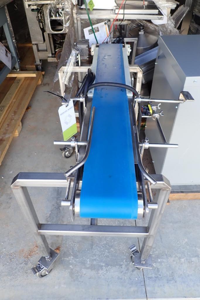 Lot 49 - Rubber belt conveyor - (Located in Fayetteville, AR)