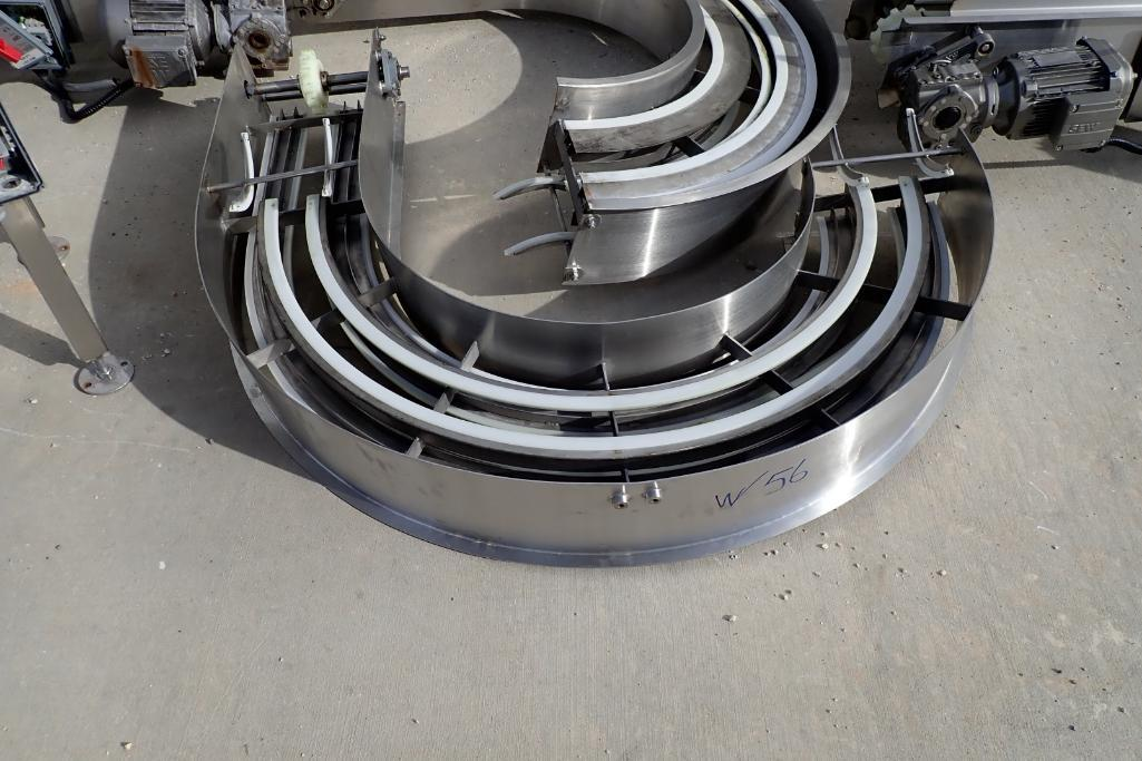 Lot 56 - Oval up spiral conveyor - (Located in Fayetteville, AR)
