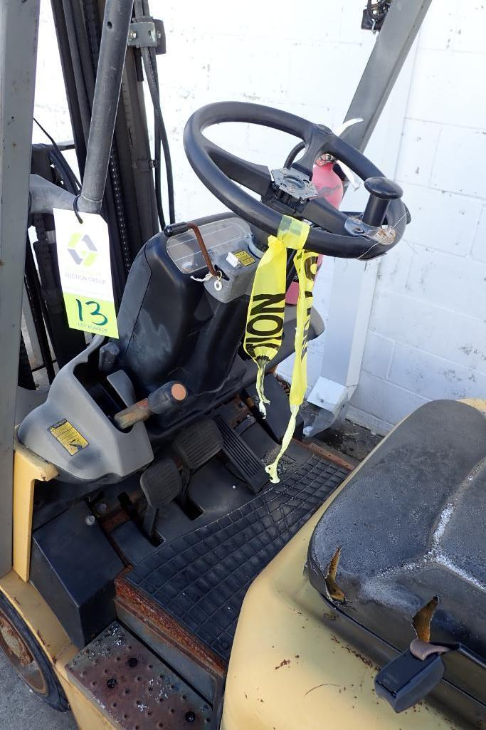Lot 13 - Caterpillar 3000 lb. forklift - (Located in Fayetteville, AR)