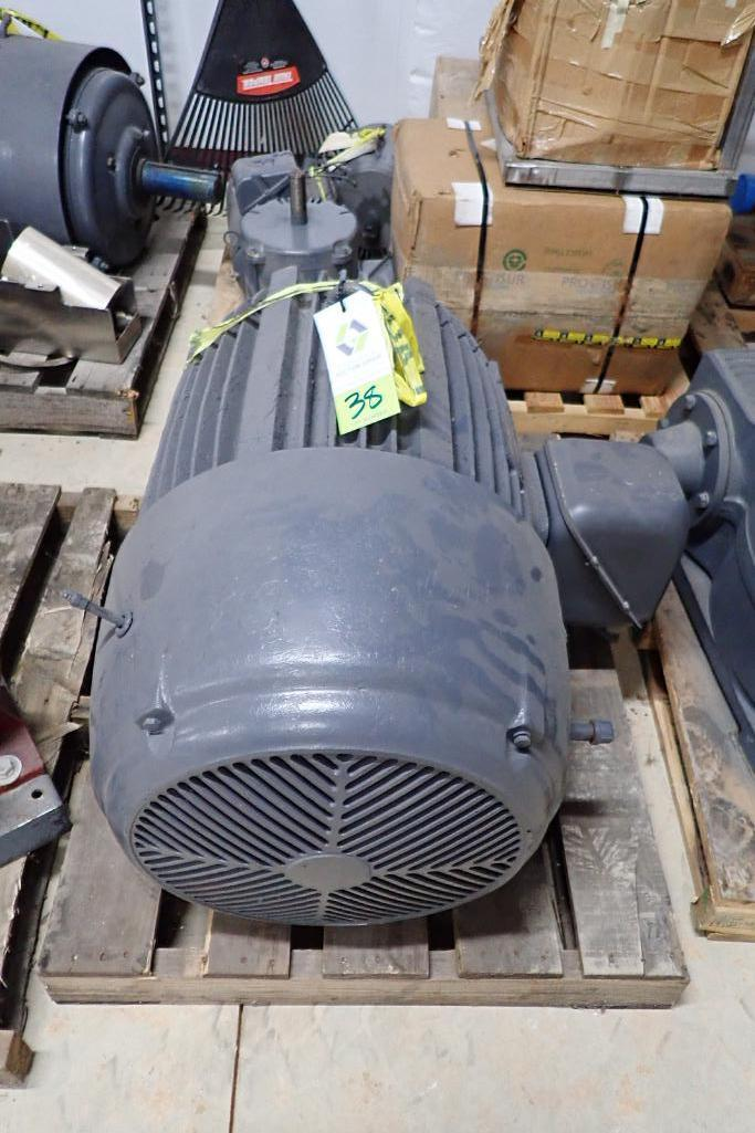 Lot 38 - US Electric 150 hp motor - (Located in Fayetteville, AR)