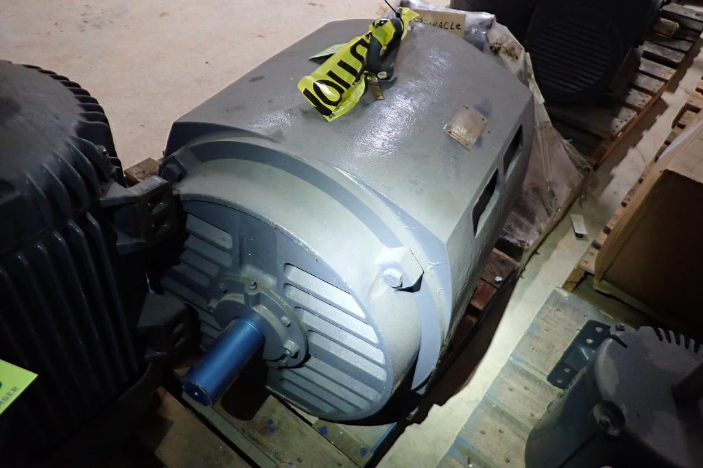 Lot 37 - Toshiba 200 hp motor - (Located in Fayetteville, AR)