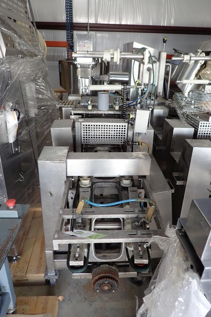 Lot 52 - Dual head rotary tray sealer - (Located in Fayetteville, AR)