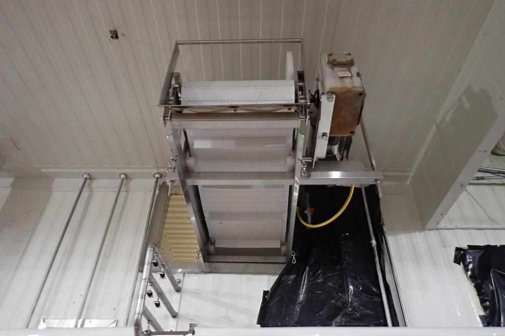 Lot 11 - MMC Z-shaped incline conveyor - (Located in Fayetteville, AR)