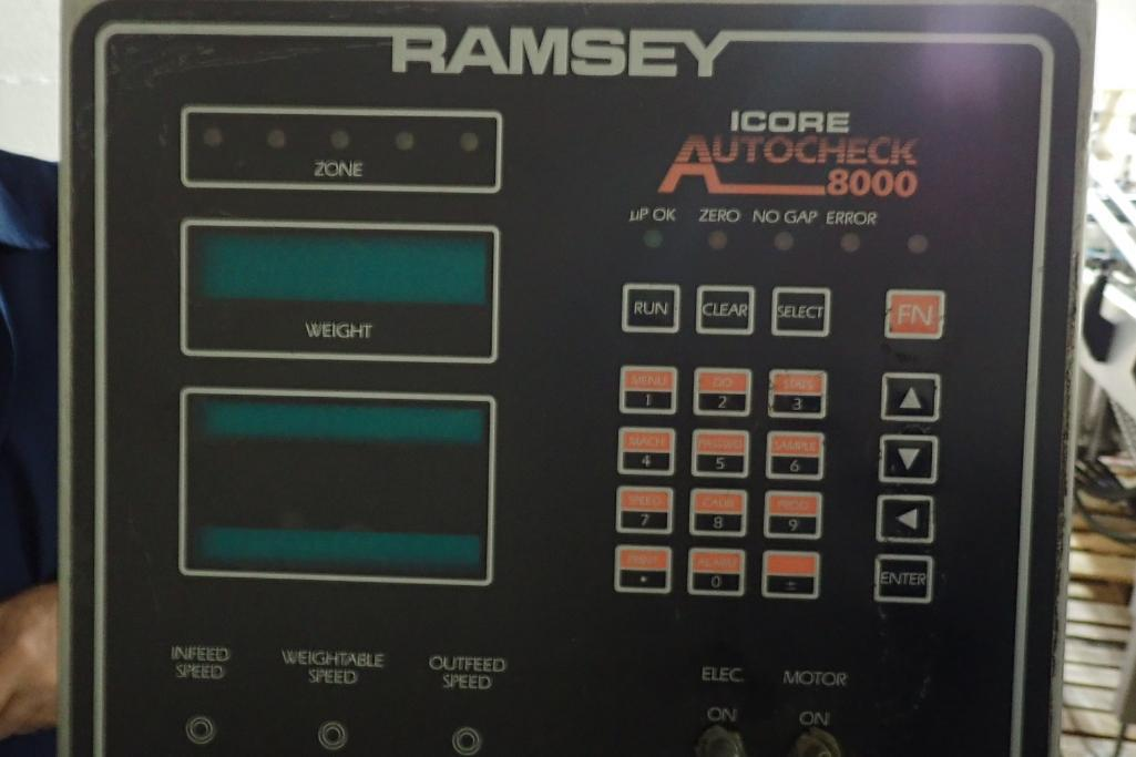 Lot 3 - Thermo/Ramsey Autocheck 8000 checkweigher - (Located in Fayetteville, AR)