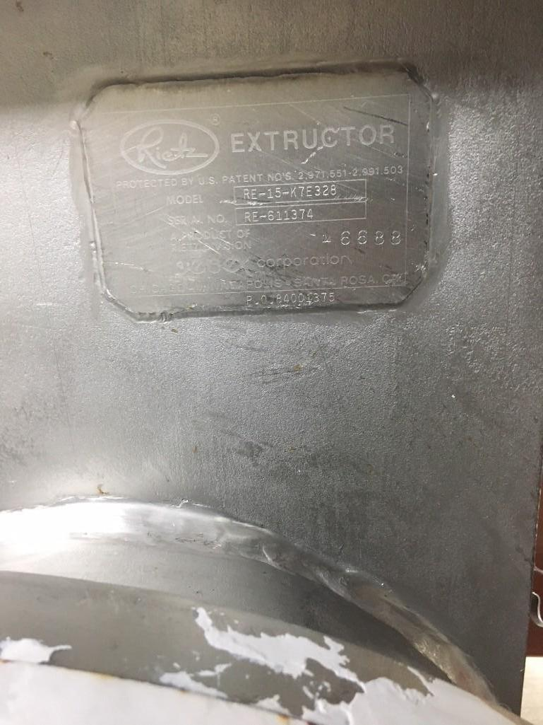 Lot 57 - Reitz extructor - (Located in Fayetteville, AR)