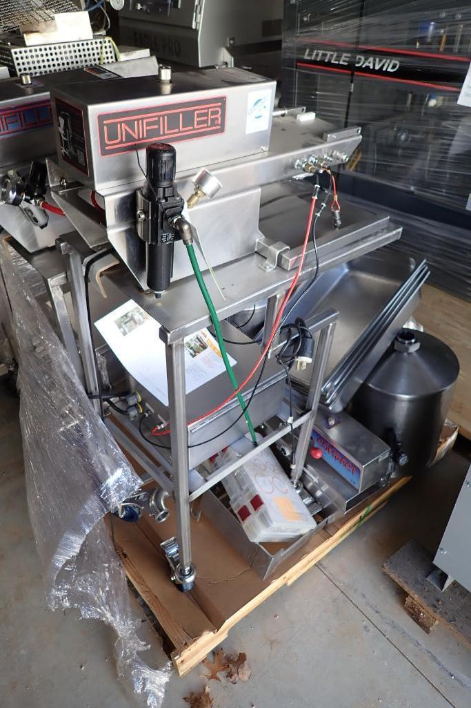 Lot 50 - (2) Unifiller Compact piston fillers - (Located in Fayetteville, AR)