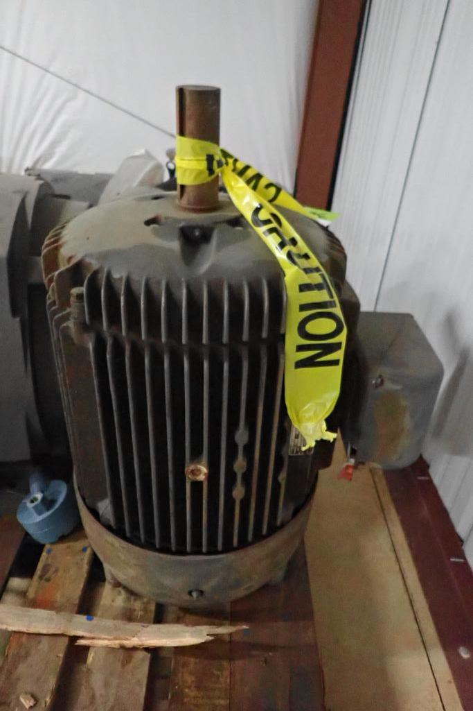 Lot 36 - Baldor 40 hp motor - (Located in Fayetteville, AR)