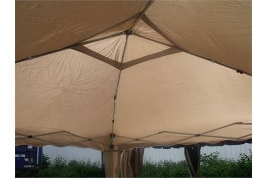 3M X POP UP GAZEBO EASY TO ERECT FOLDS DOWN FIT IN A HOLDALL