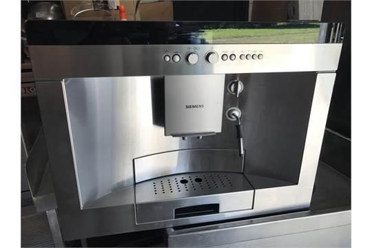 Siemens Ctes1 Built In Coffee Machine Appraisal Used Model