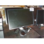 "Lot 43 - DELL 22"" MONITOR - BLACK V BASE"