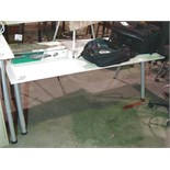 Lot 72 - WHITE ADJUSTABLE HEIGHT WORKSTATION