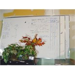 Lot 16 - 3 LARGE WHITE BOARDS
