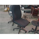 Lot 56 - BLACK HIGH BACK EXEC. CHAIR