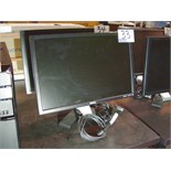 "Lot 46 - DELL 22"" MONITOR - BLACK V BASE"