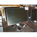 "Lot 44 - DELL 22"" MONITOR - BLACK V BASE"