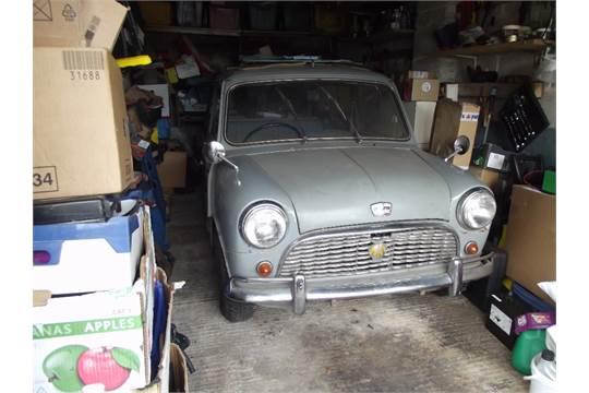 A 1964 Austin Mini Countryman Mk I Project Registration Number Fpj