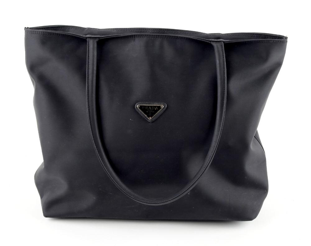 Property of a deceased estate - a Prada black tote bag (see illustration).