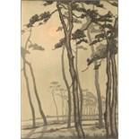 Property of a gentleman - Yoshijiro Urushibara (1888-1953) - MOONLIGHT PINES, BOURNEMOUTH -