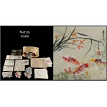 Property of a gentleman - a box containing postage stamps including 1939/40 Japan covers, loose