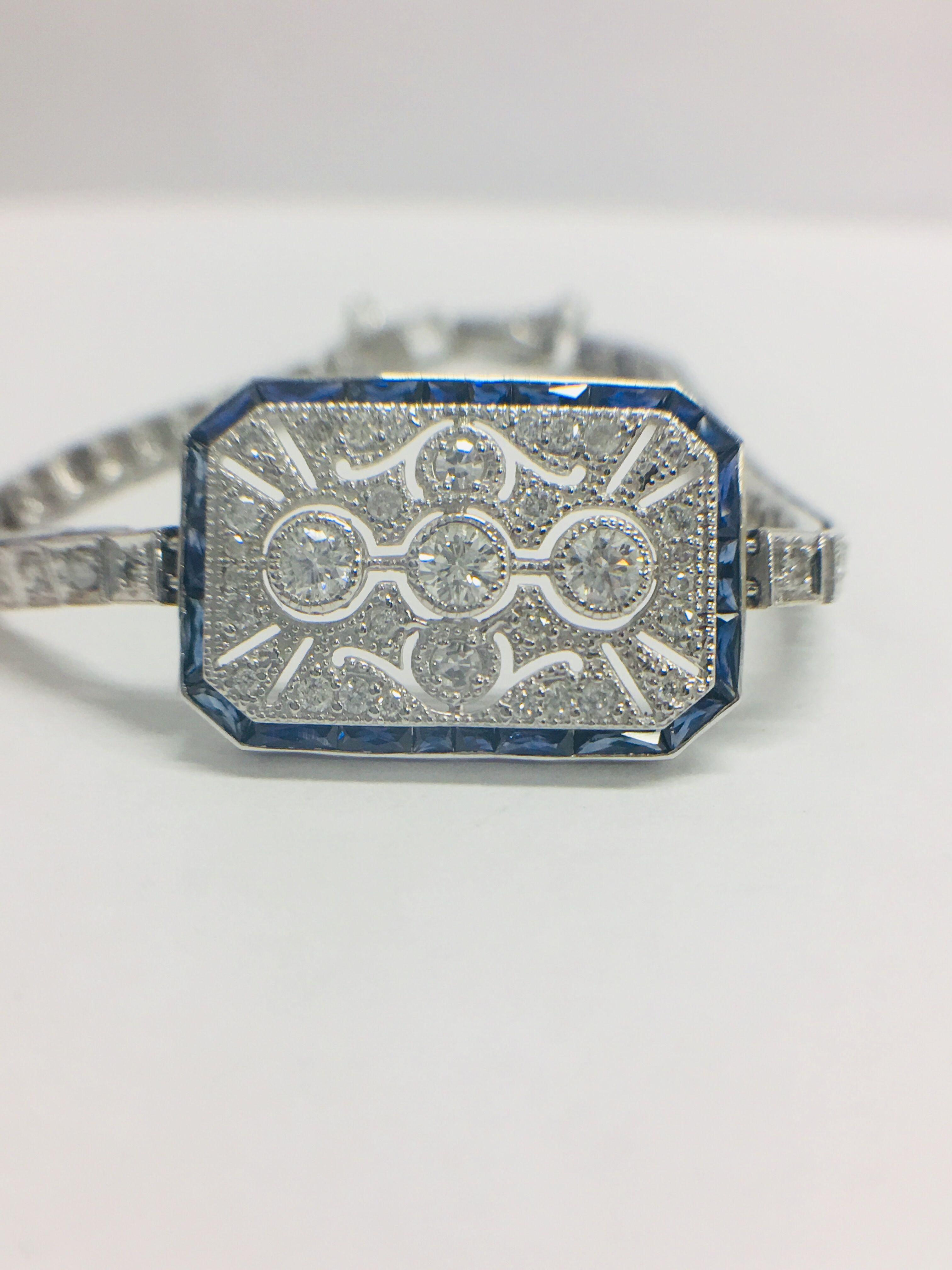 Platinum Cocktail Bracelet