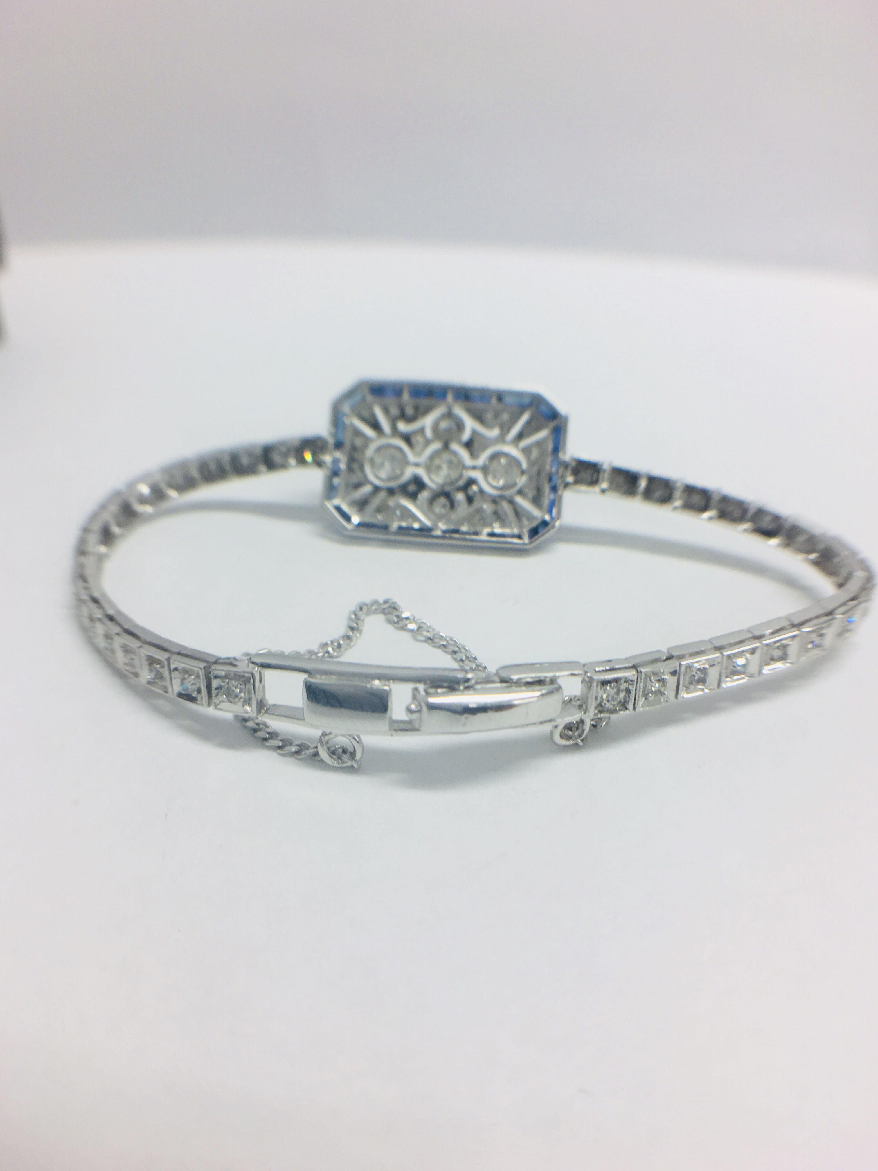 Platinum Cocktail Bracelet - Image 5 of 12