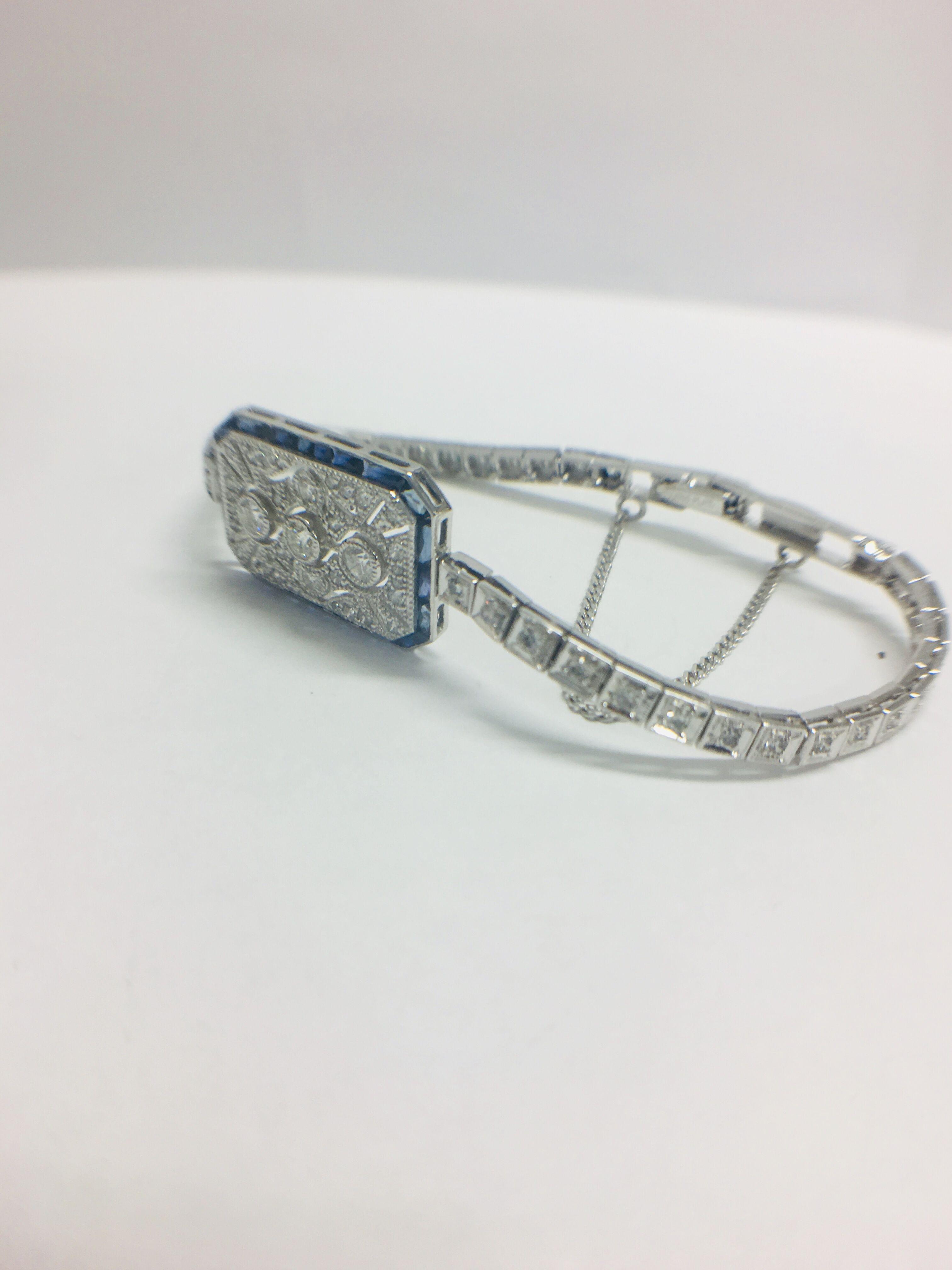 Platinum Cocktail Bracelet - Image 7 of 12