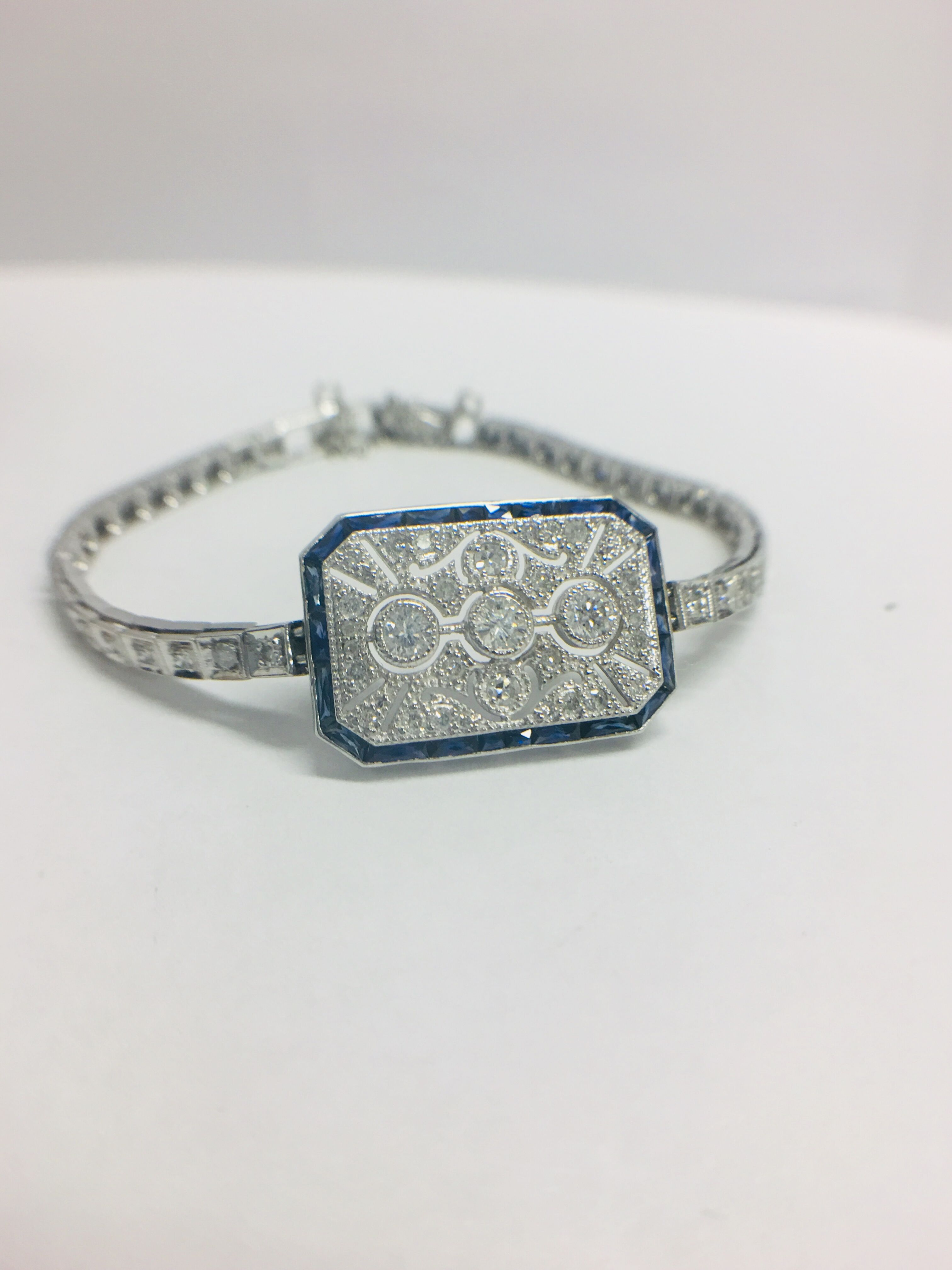 Platinum Cocktail Bracelet - Image 8 of 12