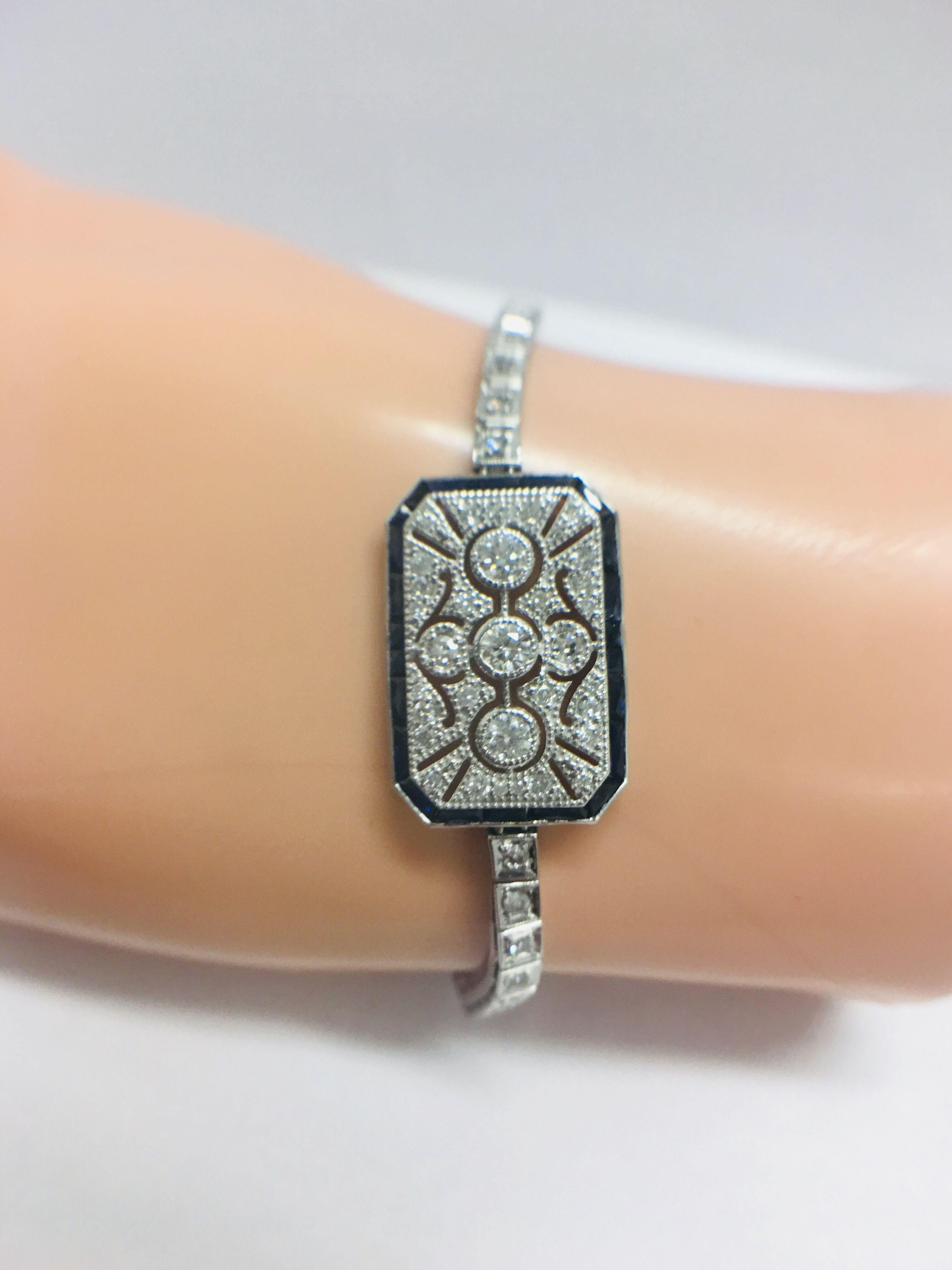 Platinum Cocktail Bracelet - Image 11 of 12